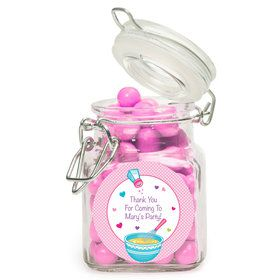 Little Chef Personalized Glass Apothecary Jars (12 Count)