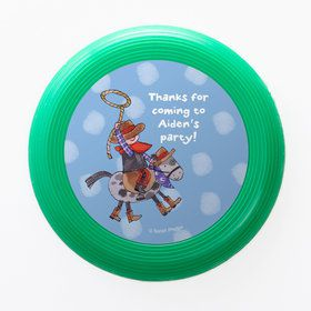 Little Cowboy Party Personalized Mini Discs (Set of 12)