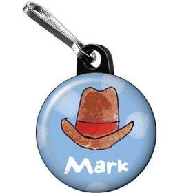 Little Cowboy Party Personalized Mini Zipper Pull (each)