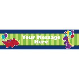 Little Dino Personalized Banner (Each)