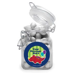 Little Dino Personalized Glass Apothecary Jars (10 Count)