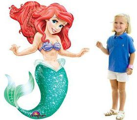 "Little Mermaid 53"" Airwalker Balloon (Each)"