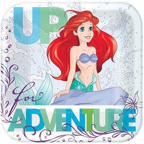 Little Mermaid Cake Plates (8 Count)