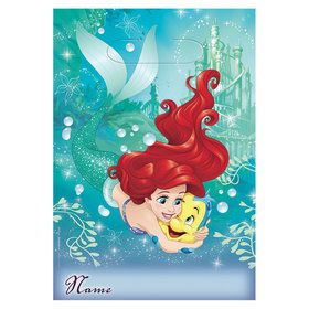 Little Mermaid Favor Lootbags (8 Pack)