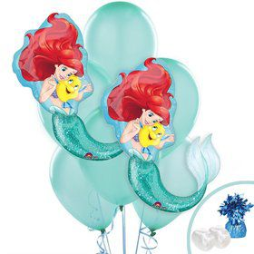 Little Mermaid Jumbo Balloon Bouquet