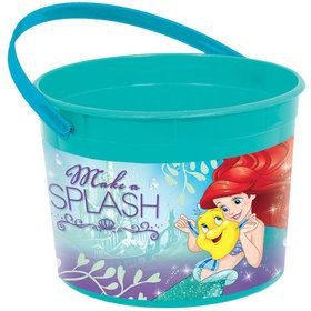 Little Mermaid Plastic Favor Container (Each)