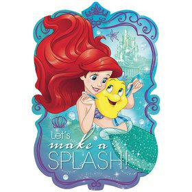 Little Mermaid Postcard Invitations (8 Pack)