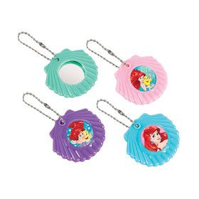 Little Mermaid Shell Mirror Keychain Favors (12 Pack)