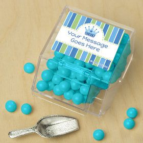 Little Prince Personalized Candy Bin with Candy Scoop (10 Count)