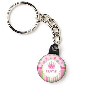 "Little Princess Personalized 1"" Mini Key Chain (Each)"