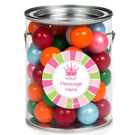 Little Princess Personalized Paint Cans (6 Pack)