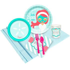 Little Spa Party 16 Guest Party Pack  sc 1 st  Birthday Express & Spa Party Supplies- Kids Party Supplies u0026 Party Ideas ...