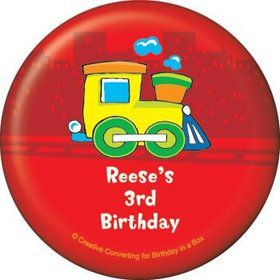 Little Truck Party Personalized Magnet (each)