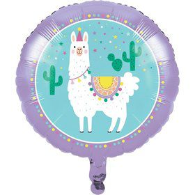 "Llama Party 18"" Foil Balloon (1)"