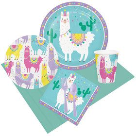 Llama Party Party Pack for 8