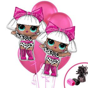 LOL Surprise Diva Jumbo Balloon Bouquet