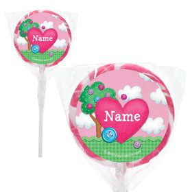 "Loopy Rag Dolls Personalized 2"" Lollipops (20 Pack)"