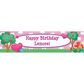 Loopy Rag Dolls Personalized Banner (Each)