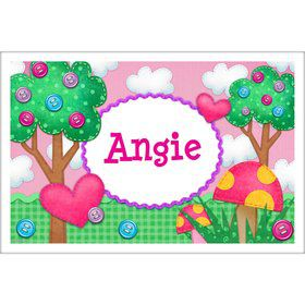 Loopy Rag Dolls Personalized Placemat (Each)