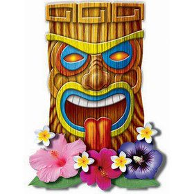 Luau Assorted Cut-Out Set (8 Count)