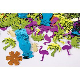 Luau Colorful 0.5oz Confetti
