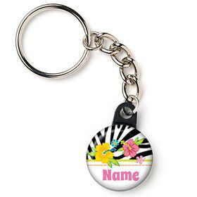 "Luau Fun Personalized 1"" Carabiner (Each)"