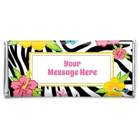 Luau Fun Personalized Candy Bar Wrapper (Each)