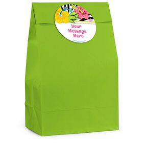 Luau Fun Personalized Favor Bag (12 Pack)