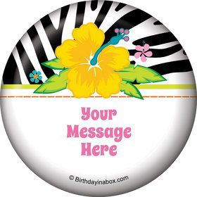 Luau Fun Personalized Magnet (Each)