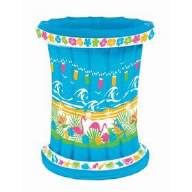 "Luau Inflatable 20"" x 25"" Barrel Cooler"