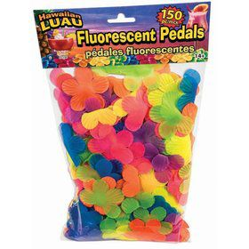 Luau Multi Color Floral Petals (150 Count)