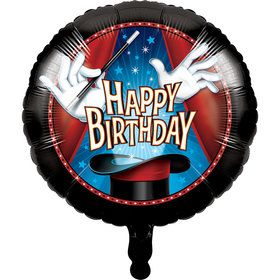 "Magic 18"" Foil Balloon (each)"