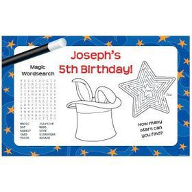 Magic Personalized Activity Mats (8-pack)