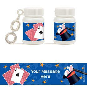 Magic Personalized Bubbles (18 Pack)