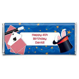 Magic Personalized Candy Bar Wrapper (Each)