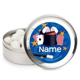 Magic Personalized Candy Tins (12 Pack)