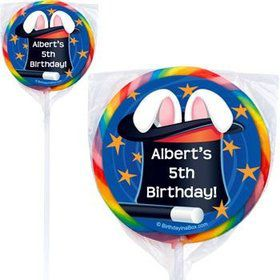 Magic Personalized Lollipops (pack of 12)