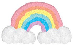 Magical Rainbow Birthday Mini Pinata Decoration