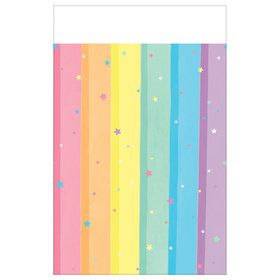 Magical Rainbow Birthday Tablecover