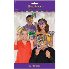 Mardi Gras Photo Prop Kit