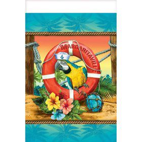Margaritaville Plastic Table Cover
