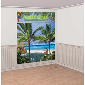Margaritaville Scene Setter with Photo Props