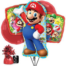 Mario Balloon Bouquet Kit