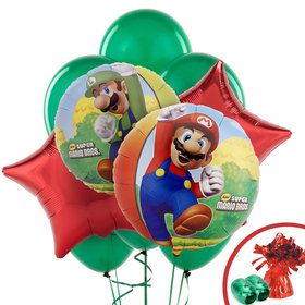 Mario Balloon Bouquet Kit (Each)