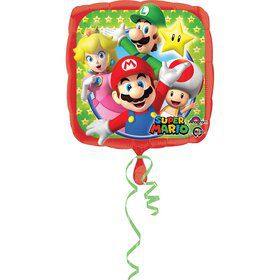 "Mario Bros 17"" Foil Balloon"