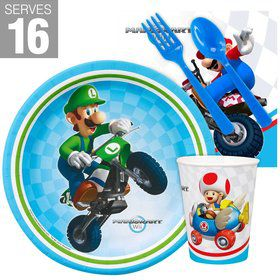 Mario Kart Wii Snack Party Pack For 16