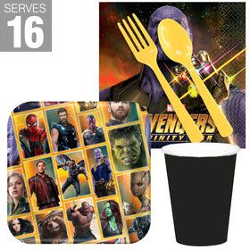 Marvel Avengers Infinity War Snack Pack for 16