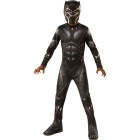 Marvel: Black Panther Movie Black Panther Boys Costume