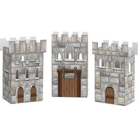 Medieval Castle Favor Boxes (Set Of 3)