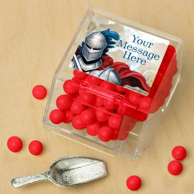 Medieval Knight Personalized Candy Bin with Candy Scoop (10 Count)